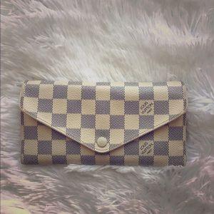 Louis Vuitton Josephine Wallet -Damier Azur canvas